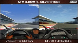 Video: Assetto Corsa vs Gran Turismo 6 - KTM