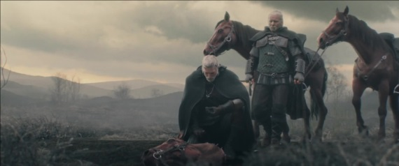 Witcher 3 - The Trail - opening cinematics