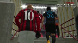 Video: Pro Evolution Soccer 2015 - Inter vs. A.C. Milan
