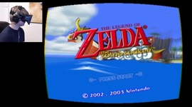 Video: Legend of Zelda Wind Waker - Oculus