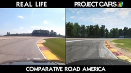 Video: Project Cars - Road America vs reality