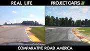 Project Cars - Road America vs reality