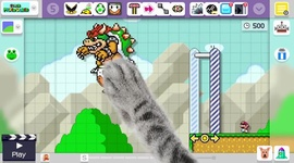 Video: Super Mario Maker - Timelapse Course Creation