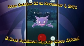 Video: Pokemon GO - Halloween event