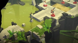 Video: Lara Croft GO: Mirror Of Spirits  - trailer