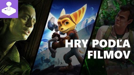 Hry pod�a filmov - videot�ma
