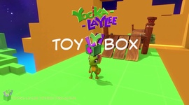 Video: Yooka-Laylee - Toybox Trailer