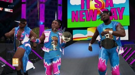 Video: WWE 2K17 - The New Day Entrance