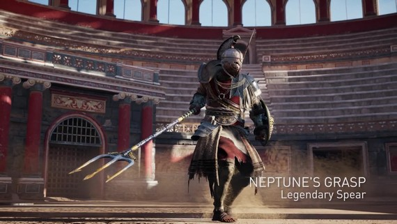 Assassin's Creed Origins: Gladiator Gear Pack - trailer