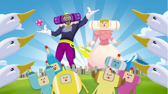 Amazing Katamari Damacy - Android/iOS trailer