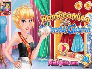 Homecoming Princezná Aurora