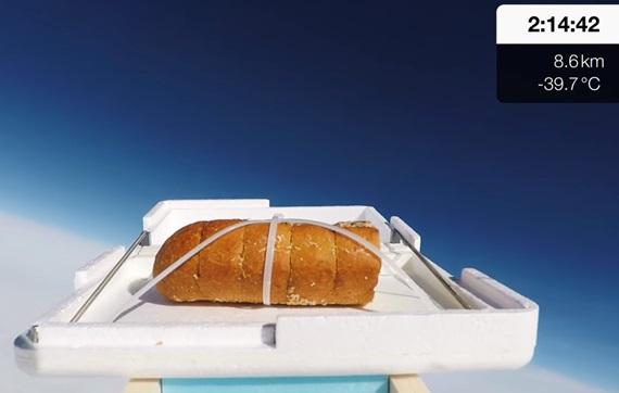 Chlieb vo vesmíre