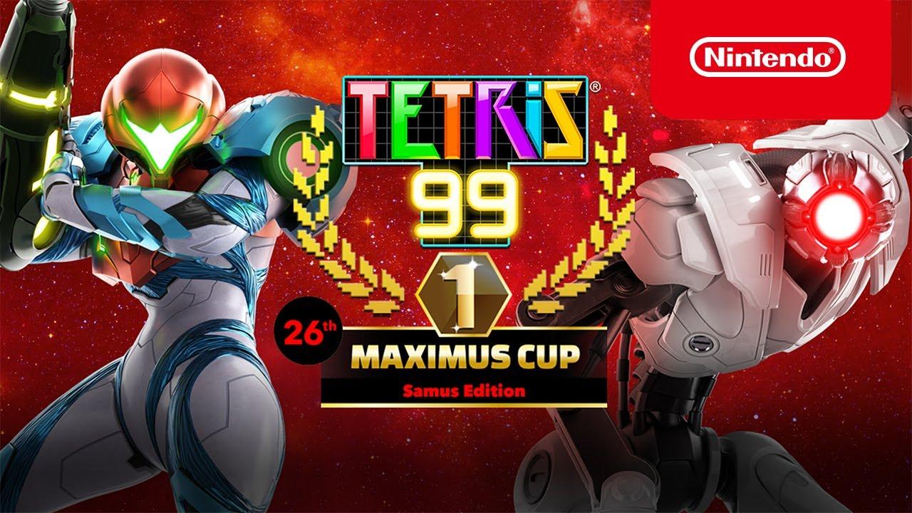 Tetris 99 cez víkend odštartuje nový Metroid turnaj