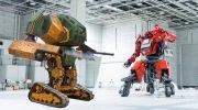 Ako vyzeral prvý Giant Robot duel?