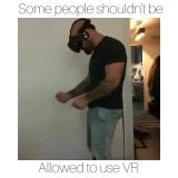 Niektorí ľudia by nemali používať VR