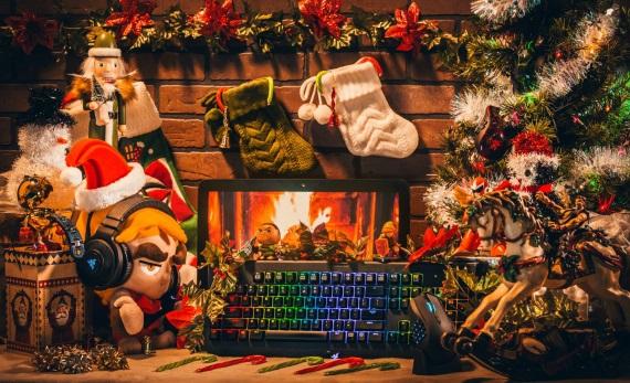 Tipy na herné a elektronické vianočné darčeky pre hráčov 2017