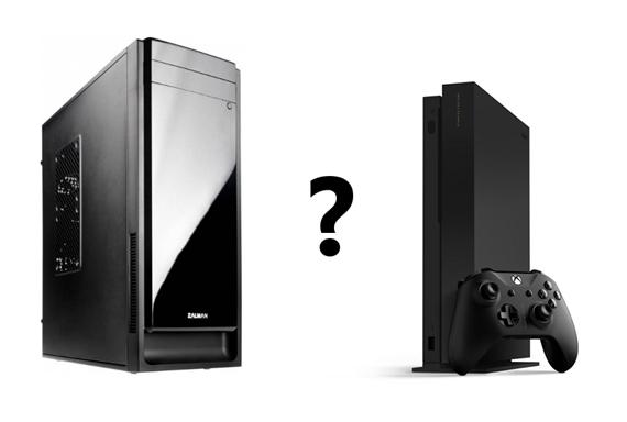 Aké PC teraz postavíte za cenu Xbox One X, teda 500 eur?