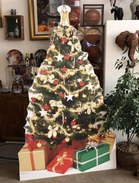 Moderný Vianočný stromček na tento rok