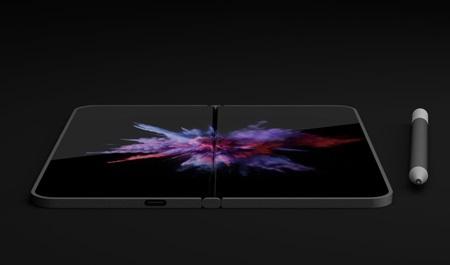 Rendery Surface Phone Andromeda zariadenia podľa aktuálneho patentu