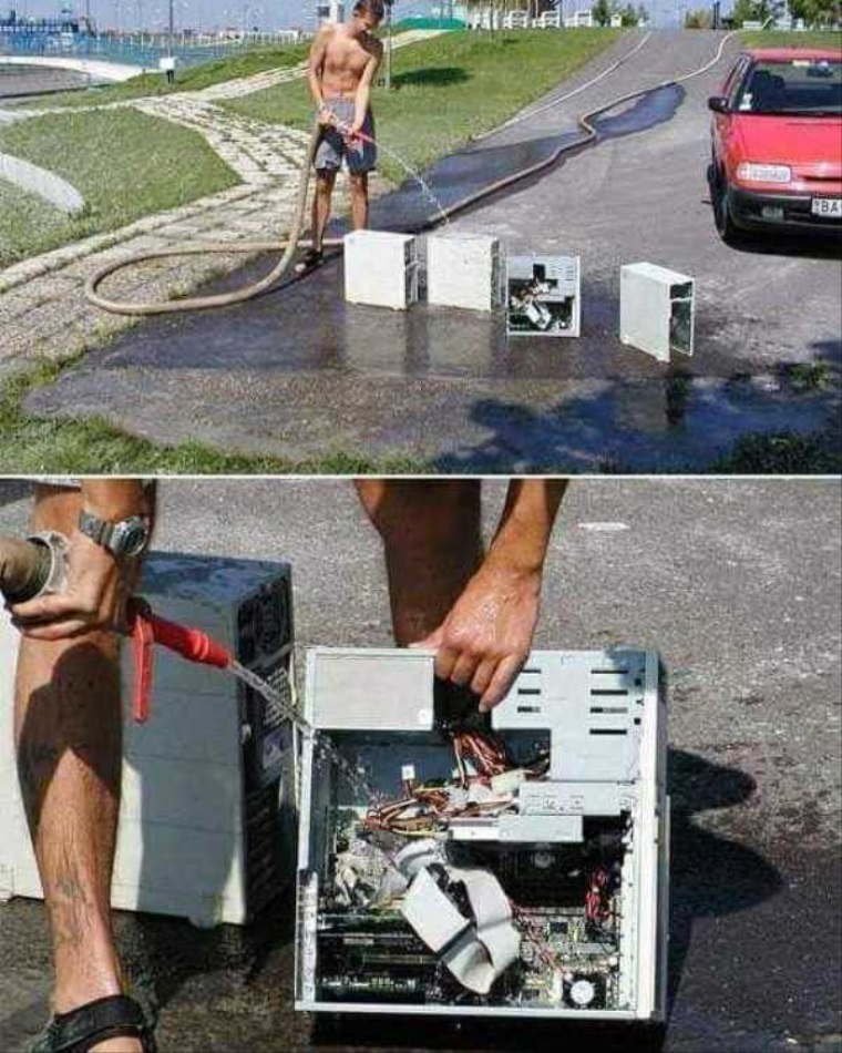 Návod na čistenie počítačov