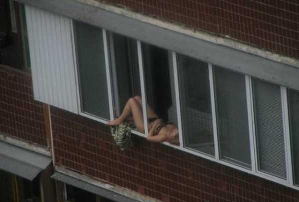 Balkóny v Rusku sú jedinečné