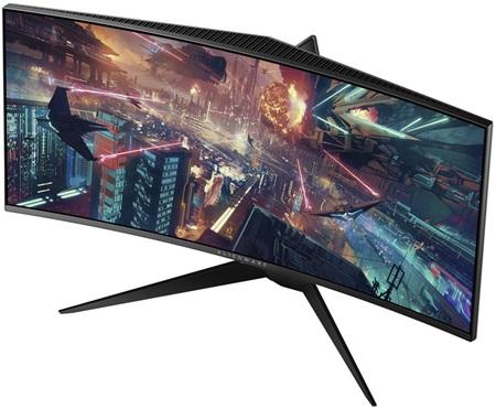 Dell predstavil dva nové Alienware zahnuté monitory