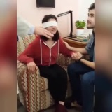 Slepá žena uvidí svojho manžela prvýkrát