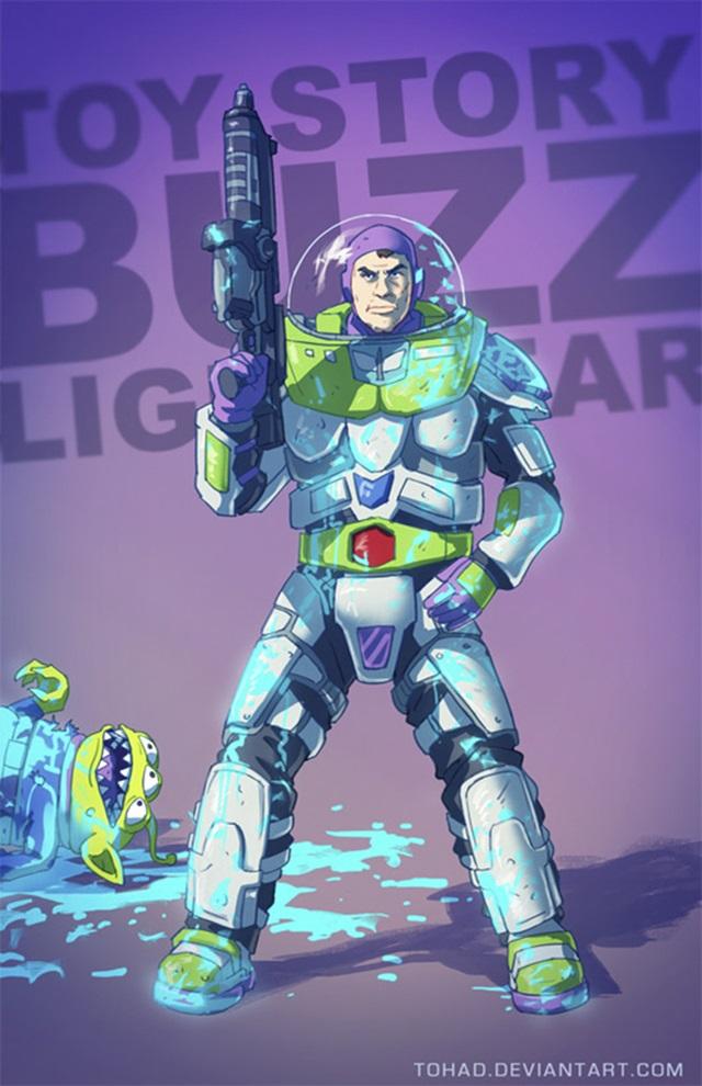 Ako vyzerajú známe hračky, filmové a herné postavy v násilnej podobe?