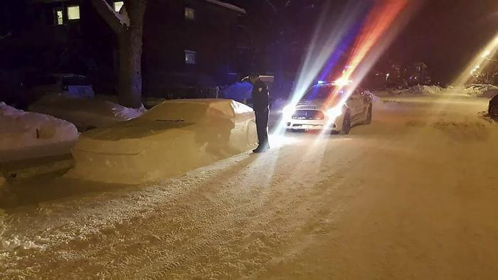 Keď vaše auto zo snehu dostane pokutu