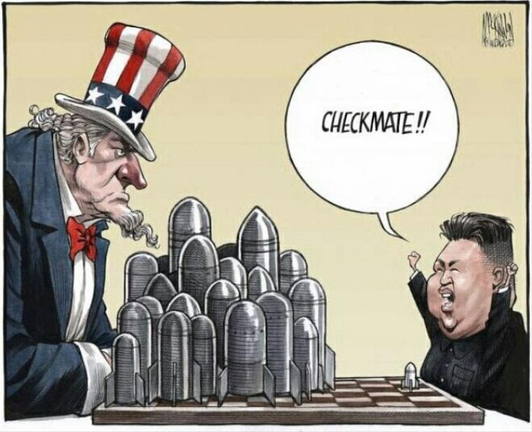 Amerika vs Serverná kórea