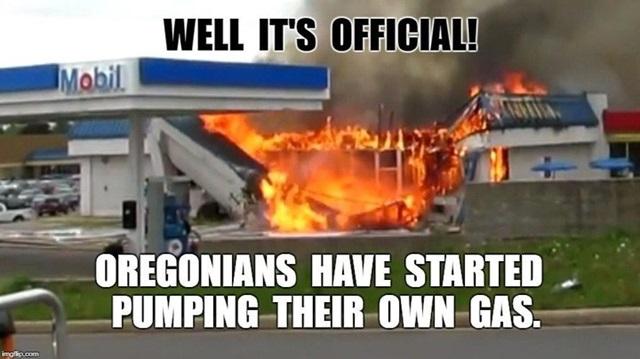 V Oregone si až doteraz netankovali sami, teraz už musia. Pozrite si výsledok