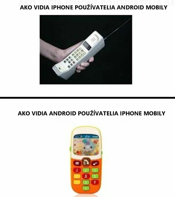 Android vs iPhone používatelia