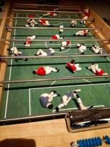 Realistický stolný futbal