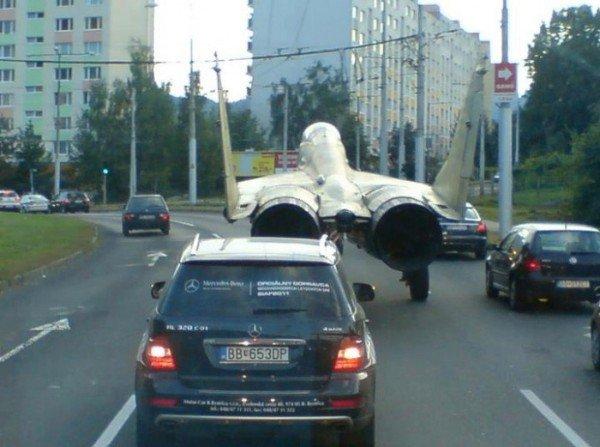 Bežná premávka v Bystrici