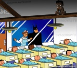 Ako by vyzerali deti superhrdinov?
