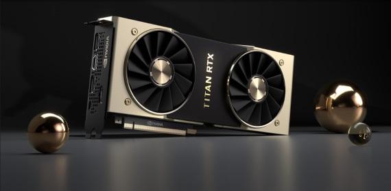 Nvidia predstavila Titan RTX grafiku, ponúka 24GB pamäte a výkon 16.2Tflops