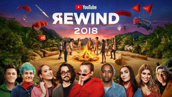 Youtube Rewind 2018 a najsledovanejšie klipy roka