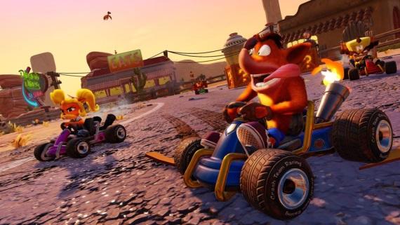 Crash Team Racing Nitro-Fueled vyjde budúci rok, ponúkne online multiplayer