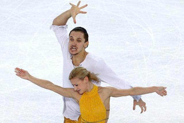 Tváre krasokorčuliarov na olympiáde stoja za to