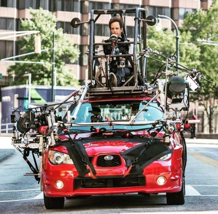 Ako sa šoférujú autá vo filme?
