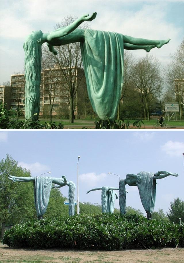 Sochy, ktoré odporujú gravitácii