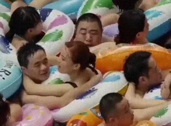Kúpanie v Číne