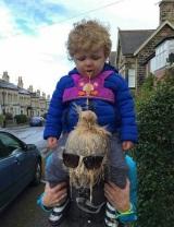Ups, niekedy vie dieťa potešiť
