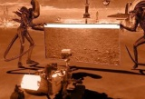 Ako to teraz vyzerá na Marse?