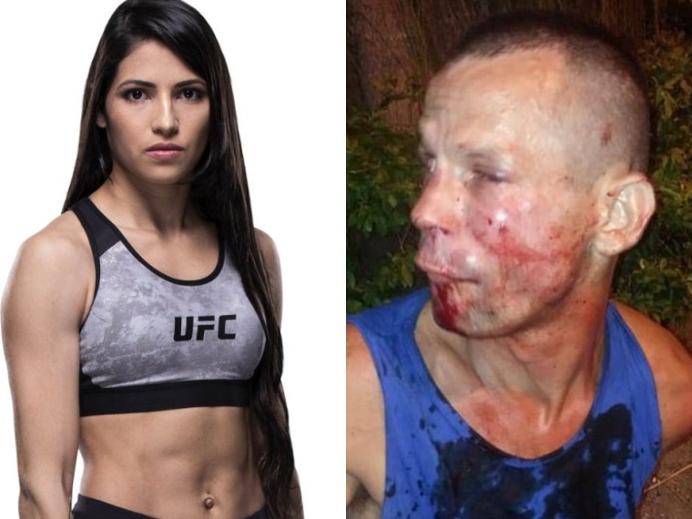 Keď chcete okradnúť UFC bojovníčku...