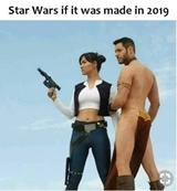 Ak by pôvodný Star Wars bol robený v roku 2019