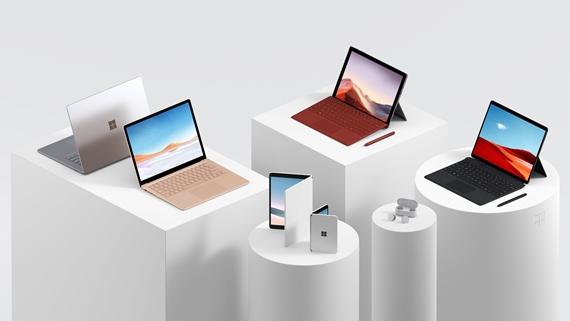 Microsoft predstavil nové Surface zariadenia, nový Surface Neo s dvomi displejmi, ako aj Surface Duo mobil