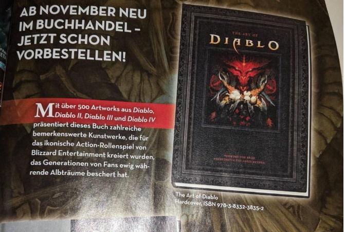 Reklama v nemeckom GameStar magazíne naznačila Diablo IV