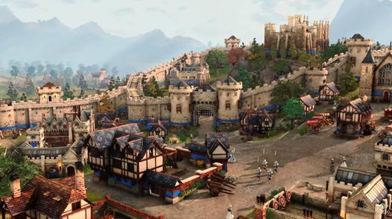 Age of Empires IV dostal prvú ukážku, hra bude umiestnená do stredoveku