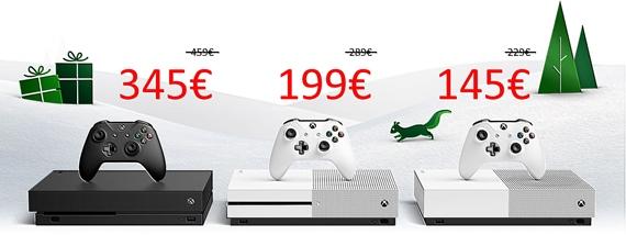 Microsoft spustil akcie na Xbox One konzoly, idú už od 146 eur, Xbox One X je za 349 eur